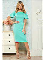 Строгое  платье-футляре B 112