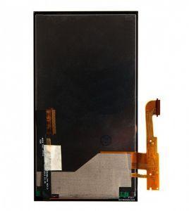 Дисплей с тачскрином HTC One E8 Dual Sim черный в рамке серебристого цвета