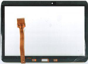 Тачскрин сенсор Samsung P5200, P5210 Galaxy Tab 3 красный (HQ)