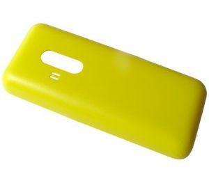 Задняя крышка Nokia 220 желтая (9448657)