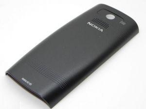 Задняя крышка Nokia X2-05 оригинал, черная (0258974)