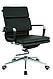 Кресло офисное кожанное Solano 3 artleather черное