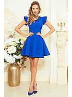 Оригинальное клешное платье B 114