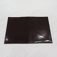 Обложка на паспорт из натуральной кожи коричневый