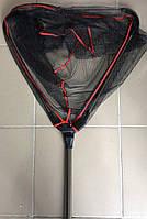 Подсак треугольный 40*200см,  с телескопической ручкой