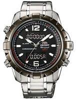Часы ORIENT FVZ04002B0 кв.Chronograph 100m. бр.2в1