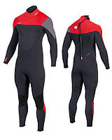 Гидрокостюм мужской длинный JOBE Perth 3/2mm Red Wetsuit Men 303517151