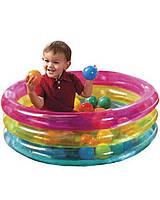 Детский надувной центр Intex 48674 с шариками