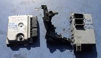 Блок управления двигателем комплект ( ЭБУ )FiatFiorino 1.3MJet2008-51908948, MCV 75HP EU5, MJD 8F2.F4 BC.0