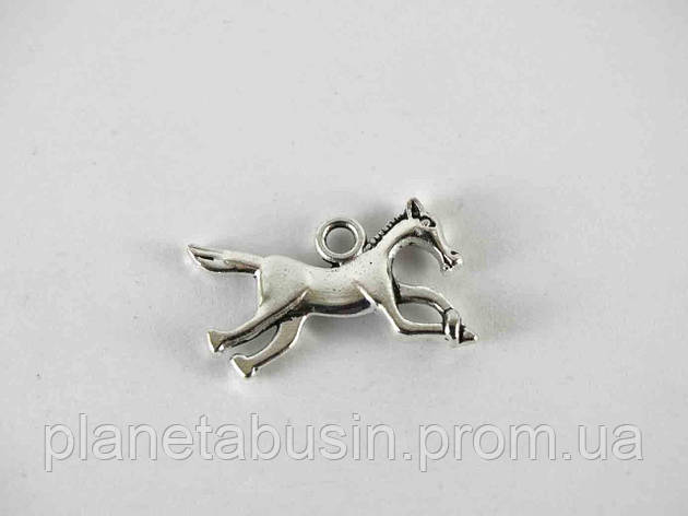 Кулон Лошадь, размер 22х13 мм, фото 2