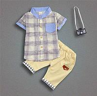 Комплект рубашка и шорты
