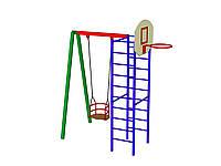 Комплекс гимнастический с лестницей и качелей