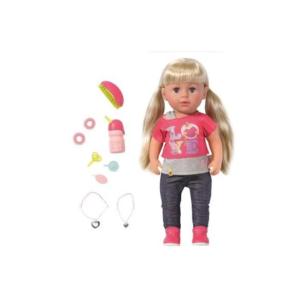 Кукла  BABY BORN - Старшая сестрёнка 43 см. с аксессуарами