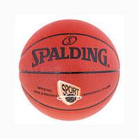 Мяч баскетбольный SPALDING SPORT PU №5