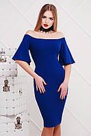 Вечернее платье цвета электрик сукня Мальфа2 к/р