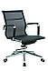Кресло офисное текстильное Solano 3 mesh черное