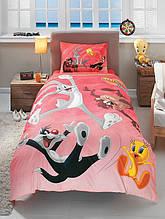 Подростковое постельное белье TAC LONEY TUNES ACTIVE SV19