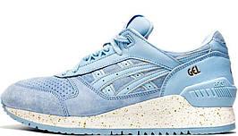 Кроссовки Asics Оригинал Crystal Blue женские подростковые, Асикс, Gel Respector, tiger, h6e3l