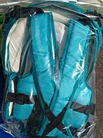 Рюкзак-кенгуру с капюшоном (аналог Womar) № 8 Бирюзовый Украина 620785