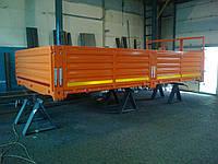 Металлический бортовой кузов