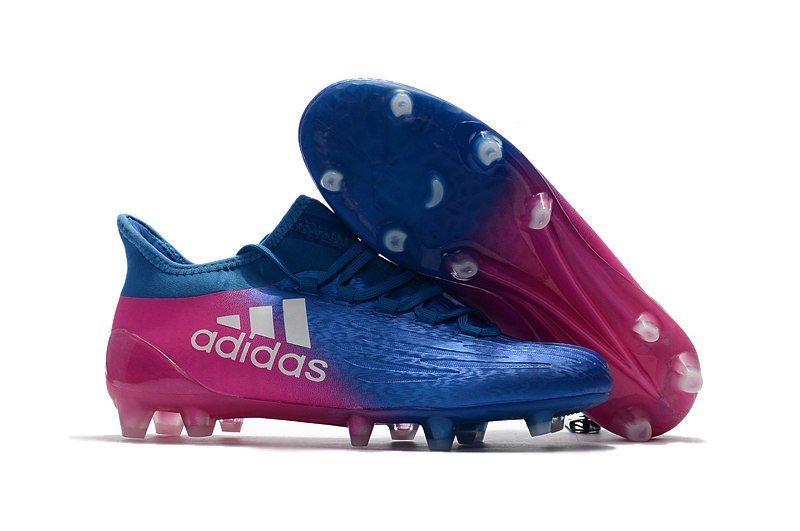 Мужские бутсы Adidas X 16.1 FG blue/pink