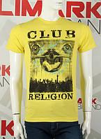 "Стильная мужская футболка ""CLUB RELIGION"""