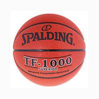 Мяч баскетбольный SPALDING TF-1000 SUPERIOR PU №7 (реплика)