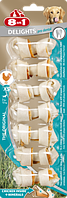Кости 8 in 1 Dental Delights Bones XS для собак жевательные, с куриным мясом, 7 шт