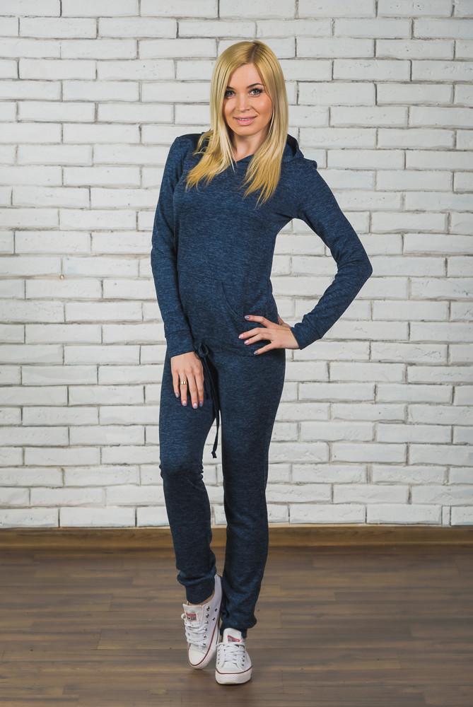 Спортивный женский костюм джинс