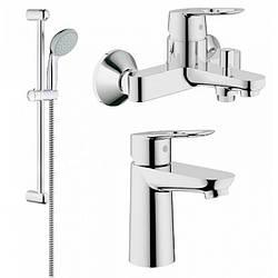 Grohe BauLoop 123214 смесители для умывальника,ванны,стойка