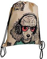 Эко - рюкзак Хипстер (Собака)