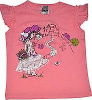 Футболка Девочка в шляпе детская для девочки, фото 1