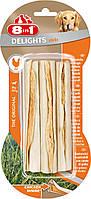 Палочки 8 in 1 Delights Sticks для собак жевательные, с куриным мясом, 3 шт