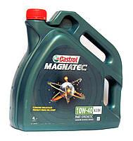 Castrol MAGNATEC 10W-40 A3/B4 моторное масло полусинтетика - 4 литра