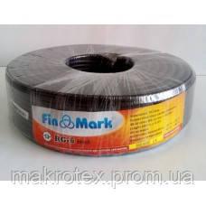 Кабель FinMark RG6 black 100м