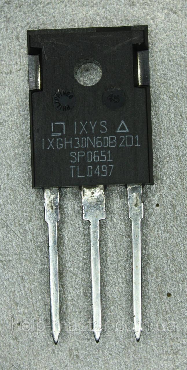 IXGH30N60B2D1