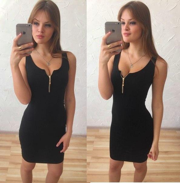 Купить летнее платье облегающее