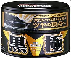 Твердий віск SOFT99 KIWAMI Extreme Gloss Wax Dark&Black