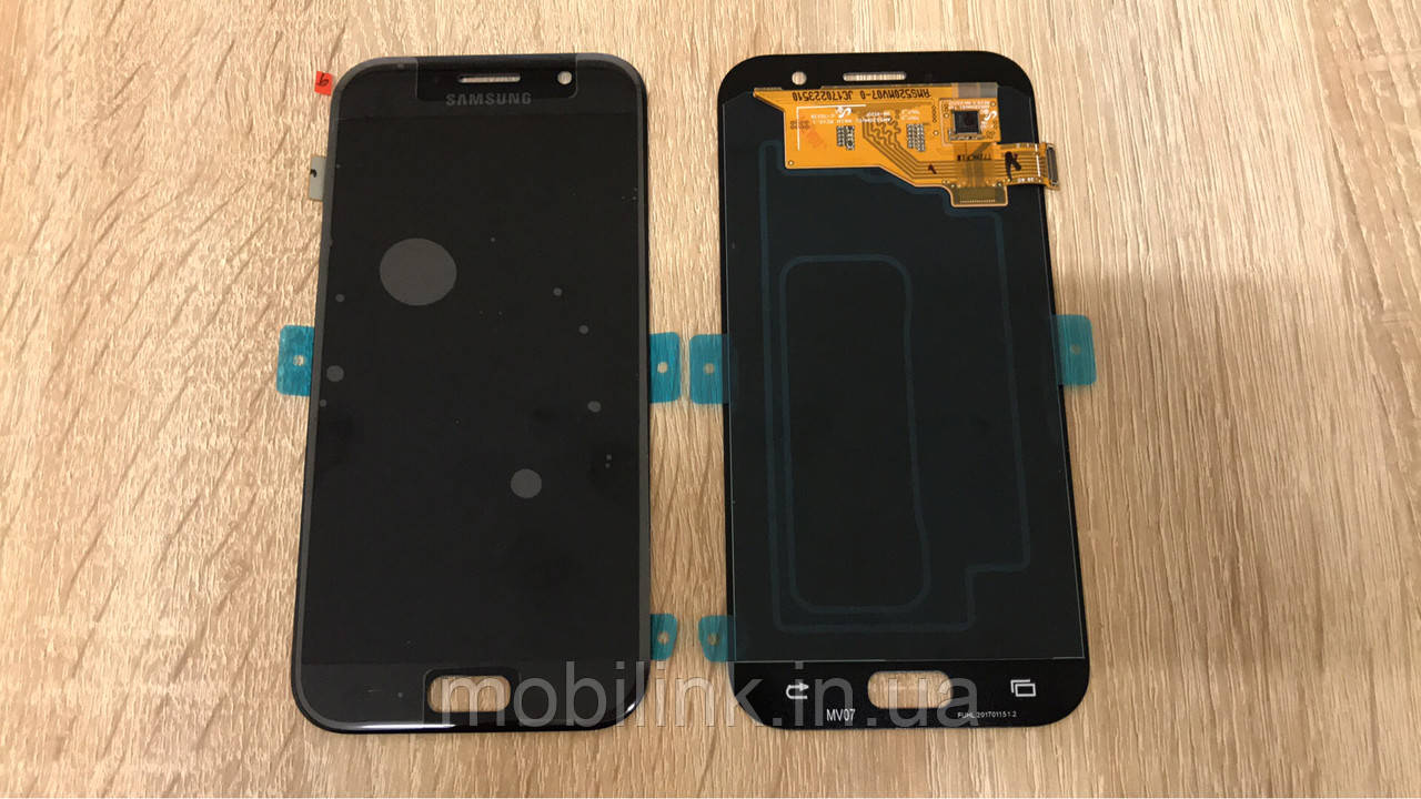 Дисплей на Samsung A520 Galaxy A5(2017) Чёрный(Black),GH97-19733A, Super AMOLED!