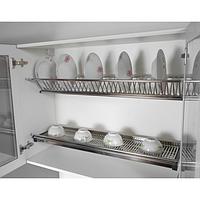 Сушка для посуды нержавейка 400мм
