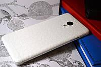 """Виниловая наклейка """"Белая кожа крокодила"""" Meizu M3S (задняя часть) 0,17 mm"""