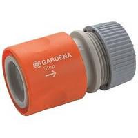 Коннектор стандартный с автостопом Gardena 13мм (1/2')