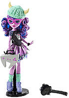 Kjersti Trollson Кьерсти Троллсон кукла из серии Монстер Хай Геймер Школа монстров