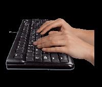 Клавиатура беспроводная Logitech Wireless Desktop K220 бу