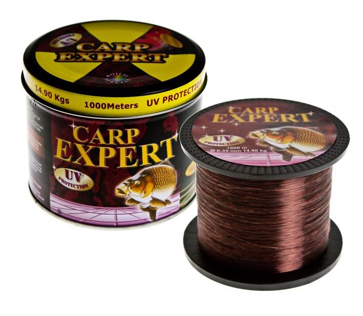 Леска Carp Expert UV 1000 m коричнева