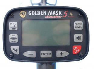 "Golden Mask 5 Light 9"" Spider, фото 2"