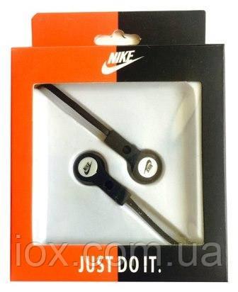 Черные вставные Hi-Fi наушники Nike T-316