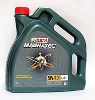 Castrol MAGNATEC 5W-40 A3/B4 моторное масло синтетика - 4 литра