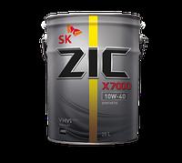 Моторное масло ZIC X7000 AP10W-40 20л.