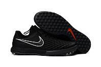 Бутсы сороконожки Nike MagistaX Finale II TF black, фото 1